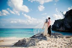 Stonehole Bay is another popular spot for a beach wedding. Description from bermuda4u.com. I searched for this on bing.com/images