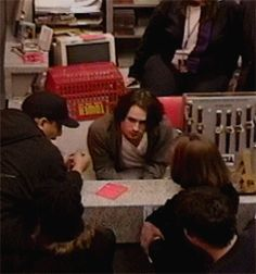 Jeff Buckley at Tower Records, NYC, December 16, 1994.