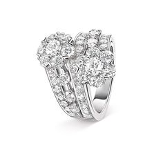Van Cleef & Arpels Diamond Ring from the Snowflake collection