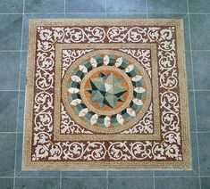 Mosaic Tile Patterns | Real Mosaic - Traditional and Contemporary Roman Mosaics - Gaucin ...