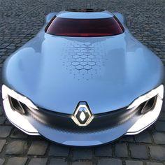 renault trezor concept car winner designboom