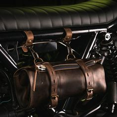 Bleu de Chauffe x Blitz Motorcycles. Leather Tool Roll