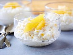 Recipe of the Day: Risotto-Style Rice Pudding Giada cooks her Italian-style rice pudding with Arborio rice, the same variety you'd use to make risotto, for a creamiest-ever take that's elevated with dark rum, vanilla bean and orange zest.