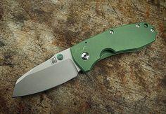 MarcinS Mouse gen II - mutation blade #marcins #marcinsknives #marcins_knives #foldingknives #titaniacs #titanium #folderknife #foldingknife #knifemaker #customknives #knifeporn #knifenut #knifestagram #knifegasm #knifecommunity #knifecollector #usnstagram #usnfollow #customknife #doomsday #instagood