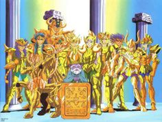 Saint Seiya | Golden Saints