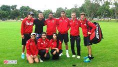 Equipo de tenis UPAEP en el Circuito Nacional de Tenis Universitario.