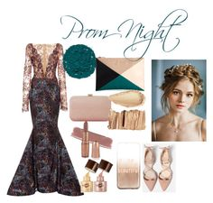 """""""Prom Night"""" by xilahax ❤ liked on Polyvore featuring Romona Keveža, Dune, Illamasqua, Sole Society and claire's"""