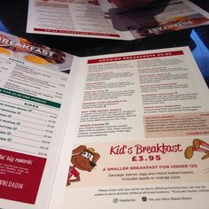 Frankie and Benny's breakfast by trustwaves