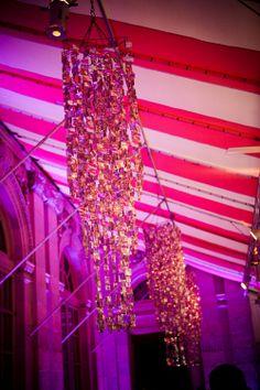 Beautiful chandeliers!