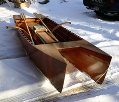 Glider - 12' Rowing Cat Skiff