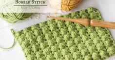 As a lover of all things fluffy, puffy and cute, I can't help but get all giddy every time I see a pattern featuring Bobble, Puff and cluster stitches!   Even if you've only ever crocheted the most basic of crochet stitches, the Bobble Stitch is pretty easy to learn, and only takes a tiny bit of practise.