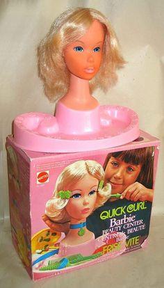 Barbie styling head.