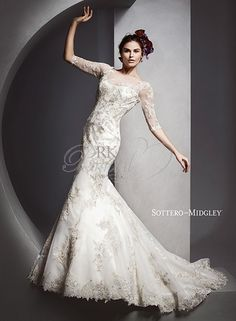 Sottero & Midgley by Maggie Sottero Spring 2015 - Style 5SS067 - Vivyana Change of Heart Sale