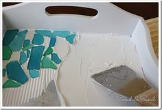 How to make your own sea glass platter