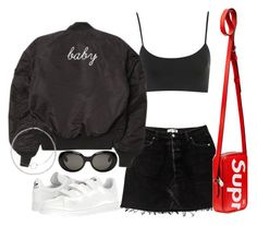"""""""Sin título #3515"""" by camilae97 ❤ liked on Polyvore featuring adidas, Louis Vuitton and Acne Studios"""