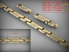 chain link 115 3d model stl 3