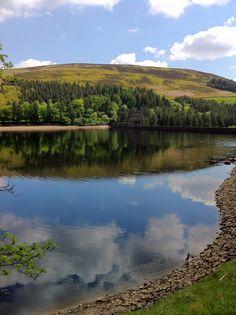 Derwent Reservoir, Upper Derwent Valley, June 2013