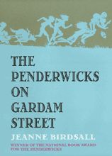 "The Penderwicks on Gardam Street, by Jeanne Birdsall. ""A Passion for Dead Leaves: Jane Austen and The Penderwicks"": http://sarahemsley.com/2012/10/30/a-passion-for-dead-leaves-jane-austen-and-the-penderwicks/"