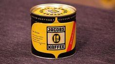 Kaffeedose von der Firma Jacobs, ca.1955 - Verkauf: 60 €