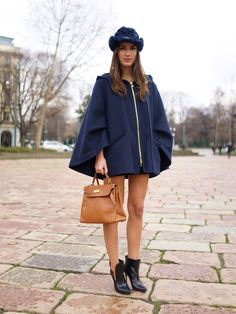 the cape caper. in navy. love it. Milan. #FaceHunter