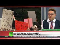 'People are fed up': March against Monsanto takes aim at global agri-giant - YouTube