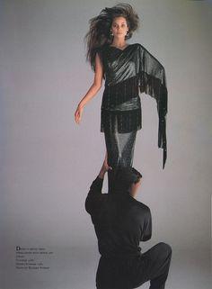 Christy Turlington by Richard Avedonfor Versace, 1987