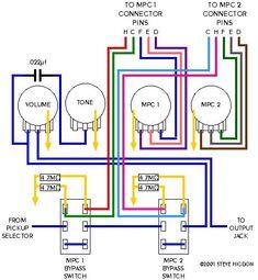 17 best guitar wiring diagrams images guitar electric guitars rh pinterest com