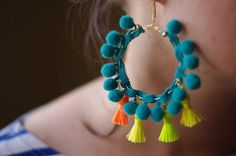 Different Types Of DIY Eaarings DIY earrings must be stylish and unique as every girl always wants to stand out looking beautiful and perfectly dressed. Check out our how-tos for each DIY earring pair and try making some for yourself. 1. Fabric Button...