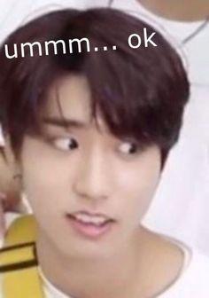 Kdrama Memes, Exo Memes, Bts Meme Faces, Funny Faces, K Pop, Shared Folder, Reaction Face, Bts Face, Bts Memes Hilarious