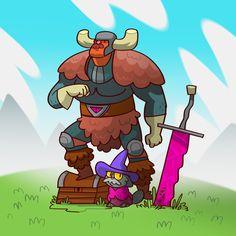 Tekno Viking Cat Wizard Duo!