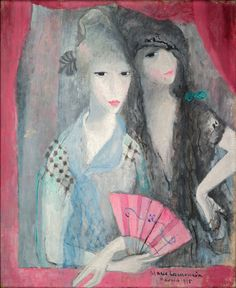 Les Deux Espagnoles by Marie Laurencin