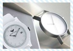 WHITE WATCHES FOR MEN. Men's White Watches – Tips On How to Choose OneBalancing the watch's usage and its comfort is an important consideration when looking for a men's watch. It should not only be a piece used to tell time but should also represent a