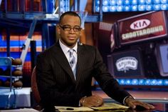 """Prominent ESPN SportsCenter anchor Stuart Scott has died at 49 after a long and public battle with cancer, the network announced early this morning. Scott was known for his trademark """"Boo-Yah"""" excl. Stuart Scott, Oakland Raiders Football, Sports Highlights, Sports Birthday, Nba News, Kobe Bryant, Lebron James, Cancer"""