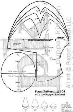How to build a quality puppet sewing pinterest puppet resultado de imagem para head puppet pattern ccuart Gallery