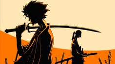 Jin et Mûgen - Samurai Champloo