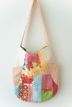 Customizable quilted 241 tote bag. $50.00, via Etsy.