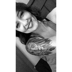 #lion #halfsleeve #skull #flowers #shoulder #tattoo #ink #tattoos #cute #beautiful #tats #cutetattoos #liontattoos #awesome #skulltattoos