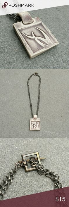 """Handcrafted Necklace Clay 14"""" chain Jewelry Necklaces"""