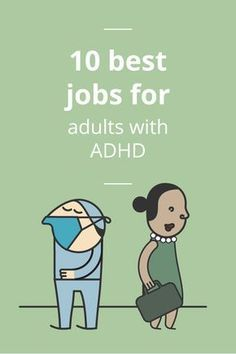 LOL- funny enough I find this very accurate. Adults with ADHD make very industrious employees. They are high-energy, naturally curious, and eager to succeed. Here are 10 best jobs for adults with ADHD! Adhd Odd, Adhd And Autism, Adhd Help, Adhd Diet, Adhd Brain, Attention Deficit Disorder, Adhd Strategies, Adult Adhd, Learning Disabilities
