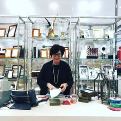 Love  working with Kathy @hallskc  Gifts and ornaments galore!! With live music  playing downstairs its easy to make @crowncenter the place to be during the holidays! . . . #kansascity #thingstodo #downtownkc #holidayshopping #crowncenter #magicalseason #servicewithasmile