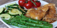 Vykostené kuracie stehná s falošnou demi glace a restovaná zelenina - Tinkine recepty