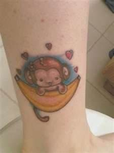 1000 images about monkey tattoos on pinterest monkey for Baby monkey tattoos