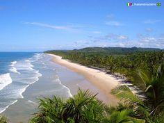 Concha de Resende - #Itacaré ( #Bahia ) www.italianobrasileiro.com  #ItalianoBrasileiro |#Praia | #Turismo | #Brasil |