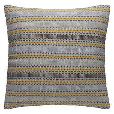 AGNES Blue stripe cushion 60 x 60cm