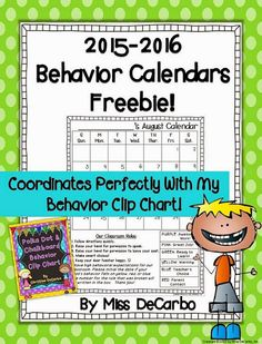 2015 2016 free behavior calendars updated more beahvior charts free ...