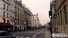 Rue de Rivoli in Paris France