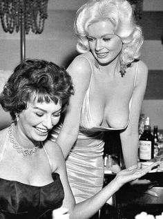 Another shot from the classic meeting of Sophia & Jayne