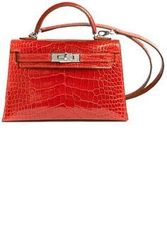 Womens Handbags & Bags : Hermès Kelly Crocodile