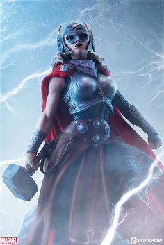 Sideshow Collectibles | Marvel | Jane Foster Thor Premium Format Figure