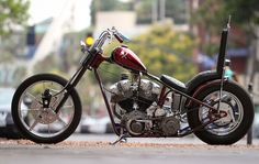 77 H-D Shovelhead | Two-Faced B----- | Street Chopper